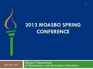 2012  MOASBo  Spring Conference