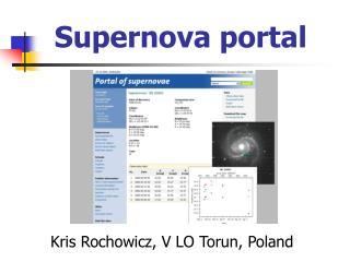 Supernova portal