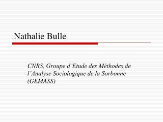 Nathalie Bulle