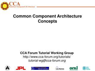 Common Component Architecture Concepts