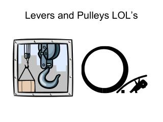 Levers and Pulleys LOL's