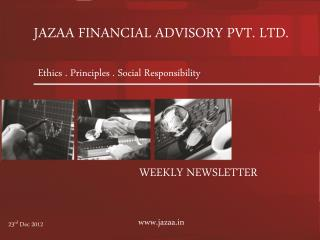 JAZAA FINANCIAL ADVISORY PVT. LTD.