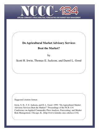 Corporate Risk Management and the Role of  Value-at-Risk by Dwight R. Sanders and Mark R. Manfredo