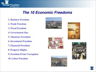 The 10 Economic Freedoms