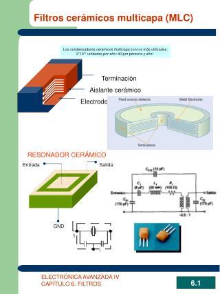 Filtros cerámicos multicapa (MLC)