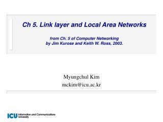 Myungchul Kim mckim@icu.ac.kr