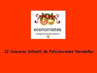 II Concurso Infantil de Felicitaciones Navideñas