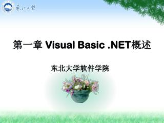 第一章  Visual Basic .NET 概述