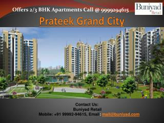 Luxury Flats in Prateek Grand City Ghaziabad