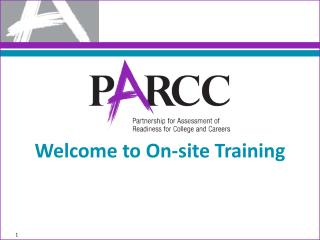 Welcome to On-site Training
