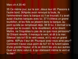 Marc ch.4.35-40