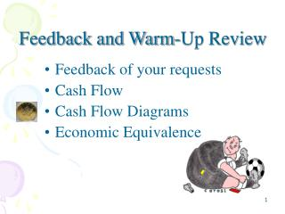 Feedback and Warm-Up Review