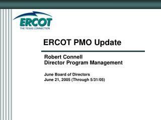 ERCOT PMO Update