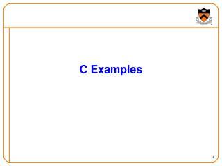 C Examples