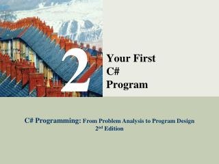 Your First  C#  Program