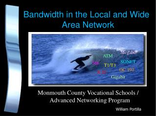 Bandwidth in the Local and Wide Area Network