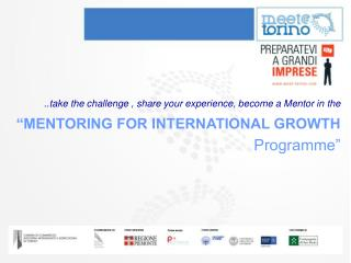 ..take the challenge , share your experience, become a Mentor in the