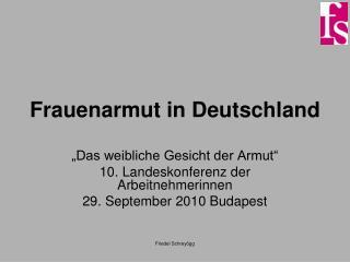 Frauenarmut in Deutschland