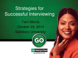 Strategies for Successful Interviewing