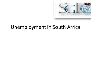 Unemployment in South Africa