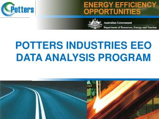POTTERS INDUSTRIES EEO DATA ANALYSIS PROGRAM