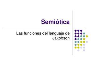 Semi�tica
