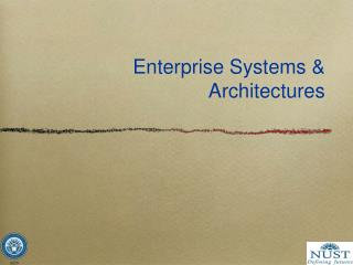 Enterprise Systems & Architectures