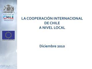 COOPERACIÓN UE-CHILE 2007-2013