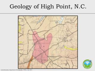 Geology of High Point, N.C.