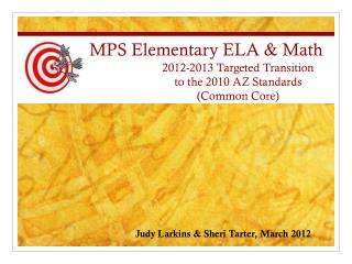 MPS Elementary ELA & Math