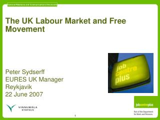 The UK Labour Market and Free Movement