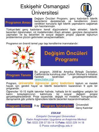 Eskişehir Osmangazi Üniversitesi