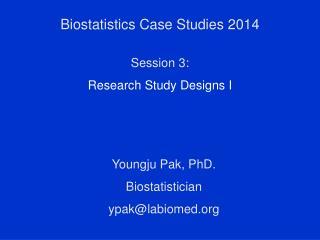 Biostatistics Case Studies 2014