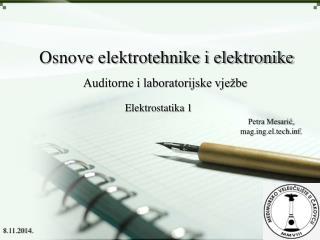 Osnove elektrotehnike i elektronike