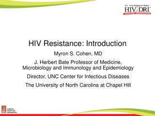 HIV Resistance: Introduction