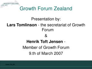 Growth Forum Zealand