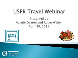 USFR Travel Webinar