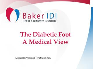 The Diabetic Foot A Medical View