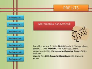 Matematika dan Statistik