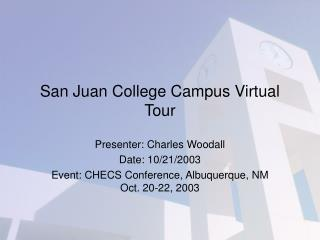 San Juan College Campus Virtual Tour
