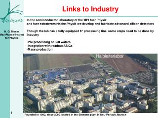 Links to Industry