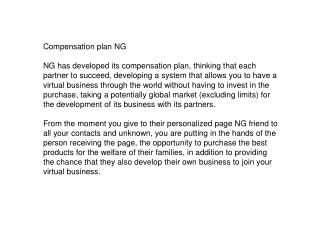 plan NG compensacion (Ingles)