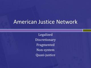 American Justice  Network