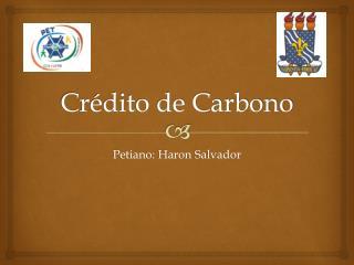 Crédito de Carbono