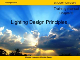 Lighting Design Principles