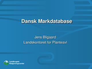 Dansk Markdatabase