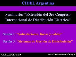 CIDEL Argentina