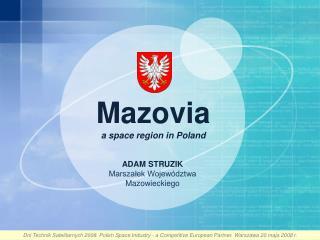 Mazovia a  space  region  in  Poland