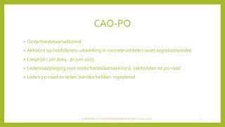 CAO-PO