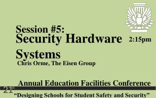 �Designing Schools for Student Safety and Security�